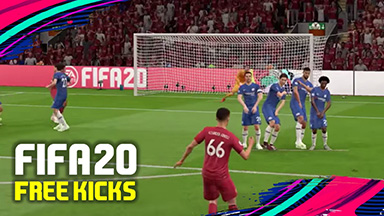 How to get the perfect free kick in FIFA 20