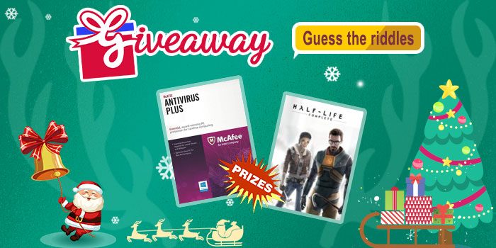 CDKoffers Christmas Game ---- Guess Riddles + Giveaway!!