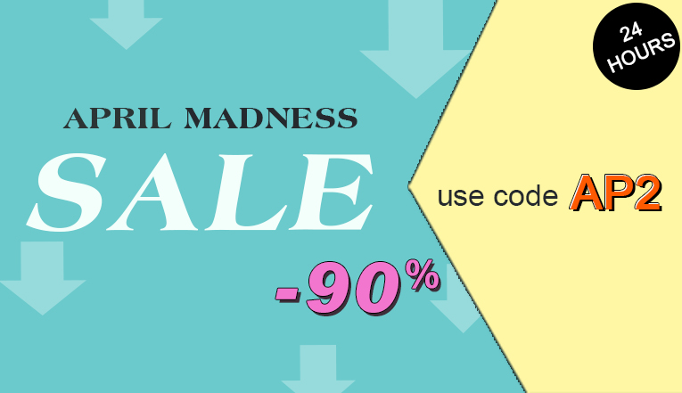 April Madness Sale: Only 24 hours!!!