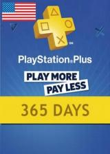 CDKoffers.com, Playstation Plus 365 Days Card North America