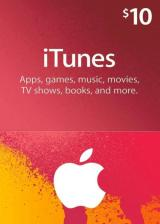 Official Apple iTunes Gift 10 USD