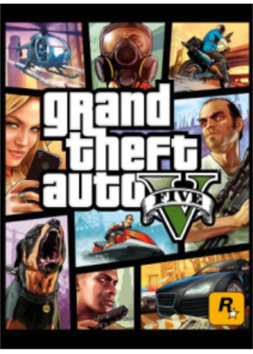 Grand Theft Auto V + Great White Shark Cash Card Key Global