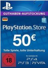 Official Play Station Network 50 EUR DE
