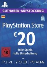 CDKoffers.com, Play Station Network 20 EUR DE