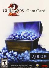 Official Guild Wars 2 2000 Gem Card Global