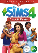 CDKoffers.com, The Sims 4 Cats And Dogs DLC Origin CD Key Global