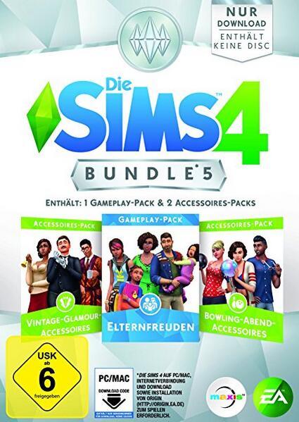 The Sims 4 Bundle Pack 5 Dlc Origin CD Key