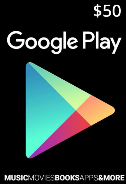 Google Play Gift 50 USD