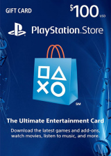Official Play Station Network 100 USD