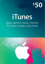 CDKoffers.com, Apple iTunes Gift 50 USD