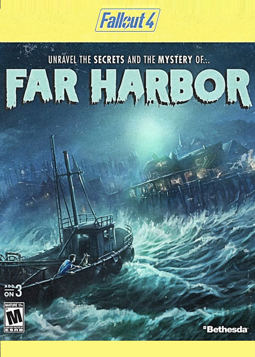 Fallout 4 Far Harbor DLC Steam CD Key