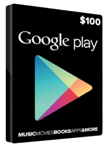 Google Play Gift 100 USD