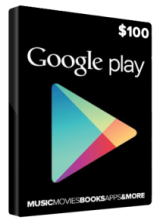 Official Google Play Gift 100 USD