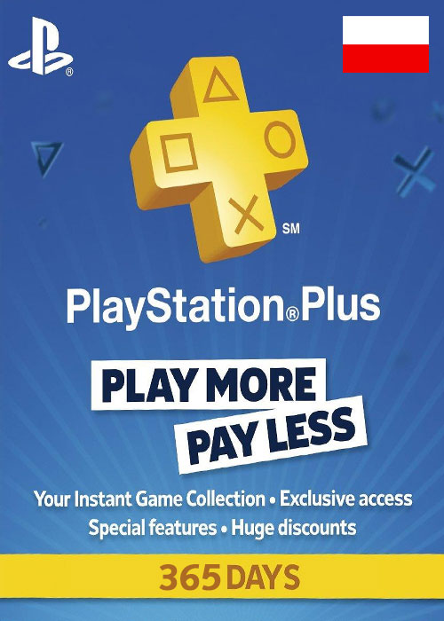 Playstation Plus 365 Days Poland