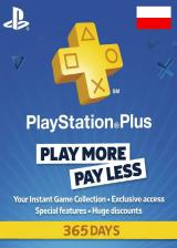 CDKoffers.com, Playstation Plus 365 Days Poland