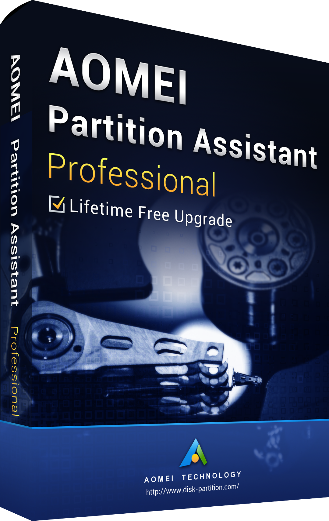 AOMEI Partition Assistant Professional + Free Lifetime Upgrades 8.0 Eidtion Key Global