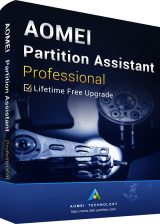 Official AOMEI Partition Assistant Professional + Free Lifetime Upgrades 8.0 Eidtion Key Global