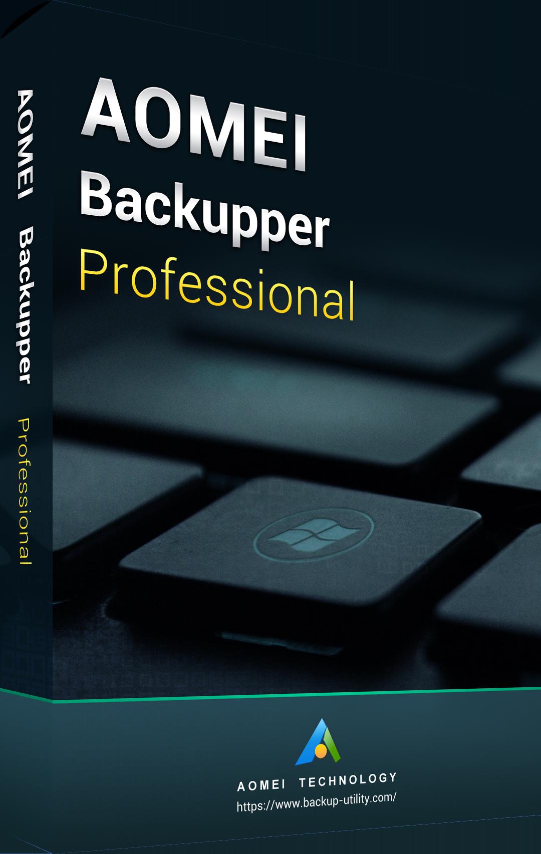 AOMEI Backupper Professional 5.0 Key Global