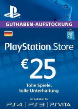 CDKoffers.com, Play Station Network 25 EUR DE