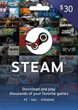 CDKoffers.com, Steam Gift Card 30 USD