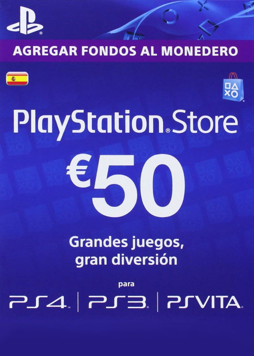 Play Station Network 50 EUR ES/SPAIN