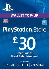 Official Play Station Network 30 GBP UK