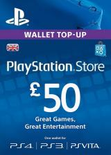 CDKoffers.com, Play Station Network 50 GBP UK