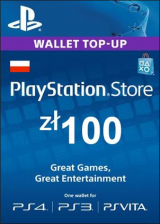CDKoffers.com, Play Station Network 100 PLN PL