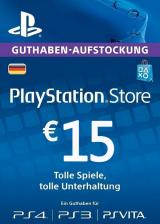 CDKoffers.com, Play Station Network 15 EUR DE