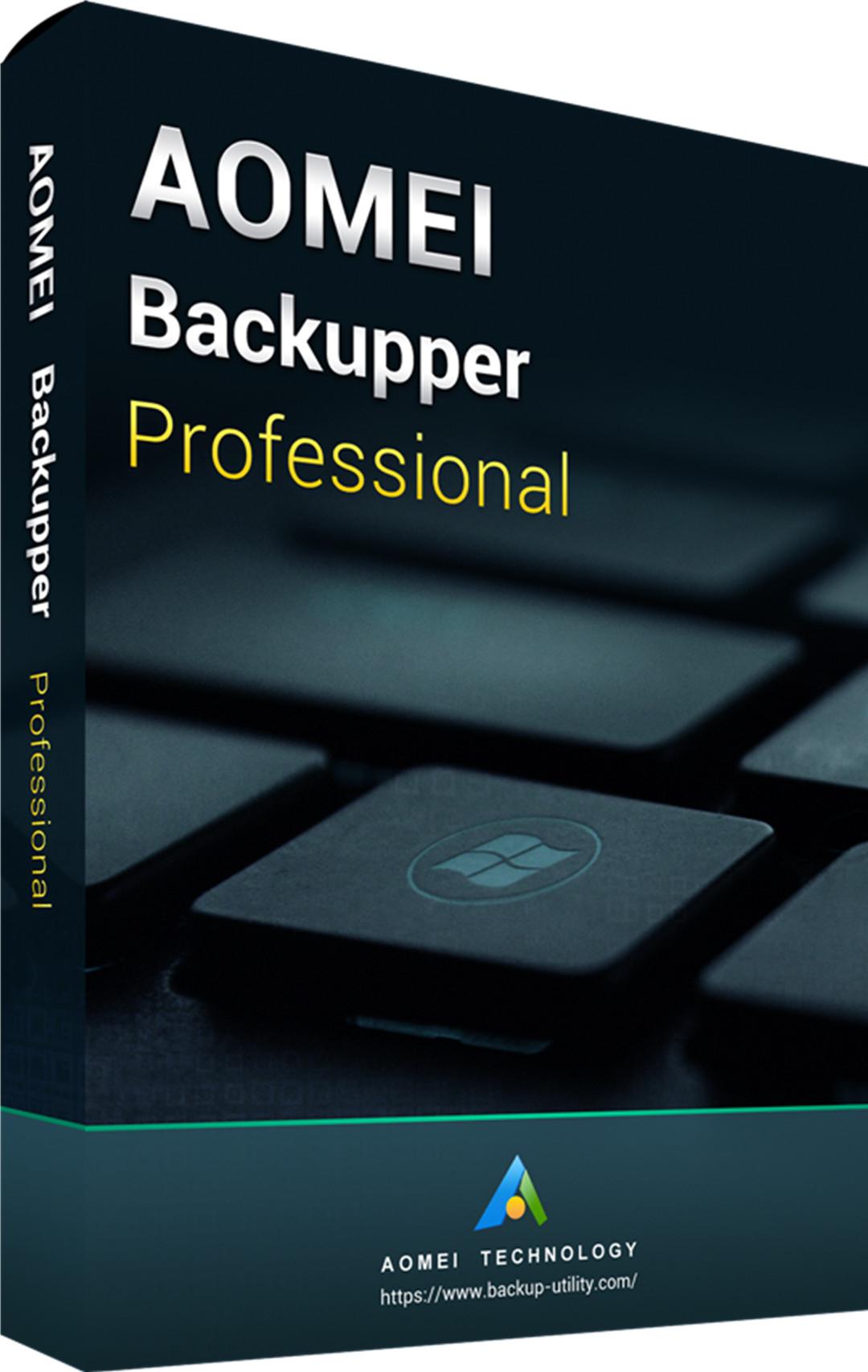 AOMEI Backupper Professional 365 Days 5.7 Edition Key Global