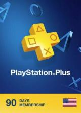 CDKoffers.com, Playstation Plus 90 Days Card North America