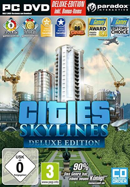 Cities Skylines Deluxe Edition STEAM CD-KEY GLOBAL