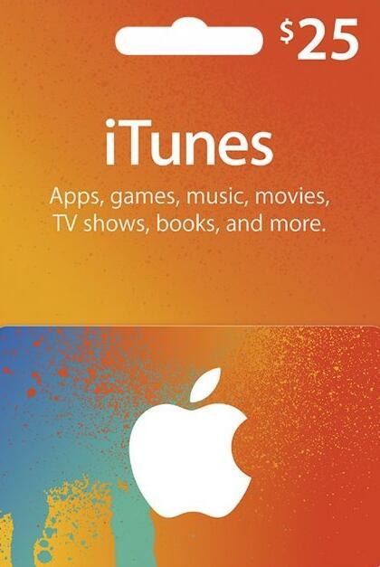 Apple iTunes Gift 25 USD