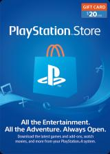 Official Play Station Network 20 USD