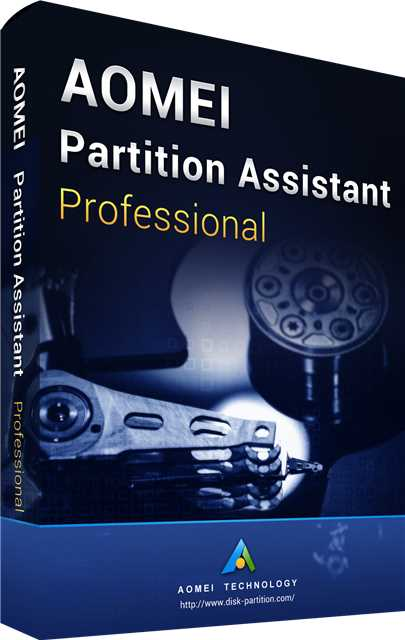 AOMEI Partition Assistant Professional 8.6 Edition Key Global