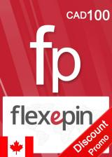 CDKoffers.com, Flexepin Voucher Card 100 CAD