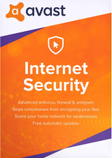 Official Avast Internet Security 1 PC 1 Year Key Global